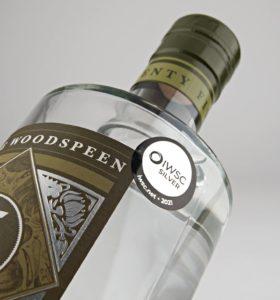 the woodspeen, gin, 25 yards, Hawkridge Distillers, Hawkridge gin, Hawkridge distillery, custom restaurant gin, custom branded spirit, iwsc 2021 winner